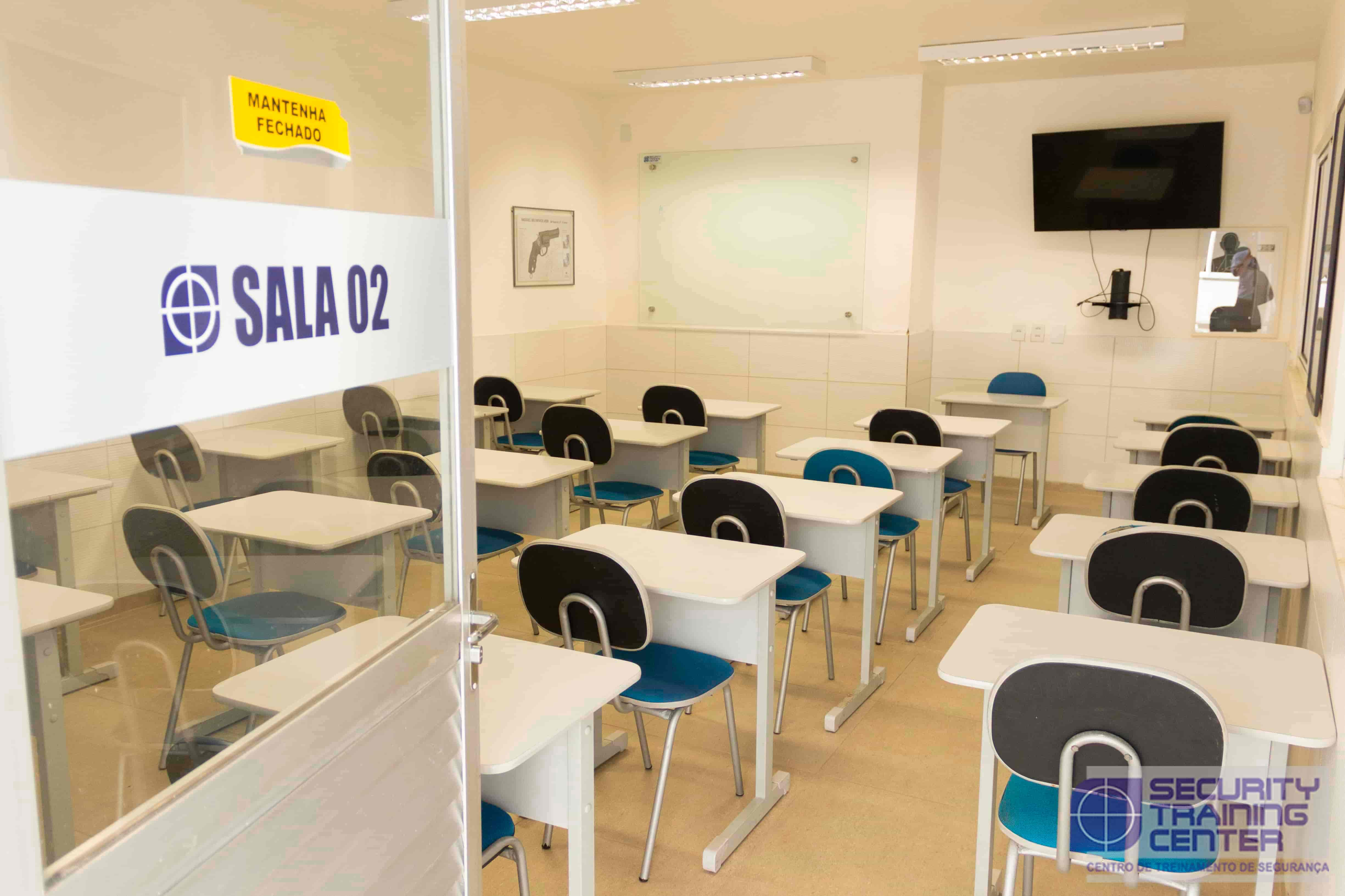 Salas de Aula Climatizadas Security Training Center
